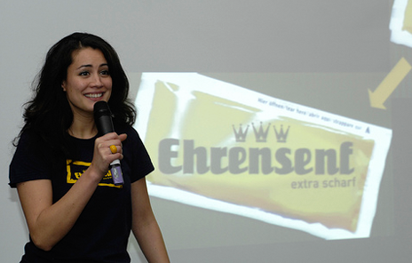 Ehrensenf - One of Germany's few web celebrities