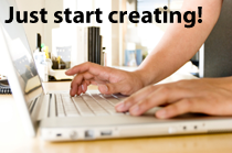 just_start_creating