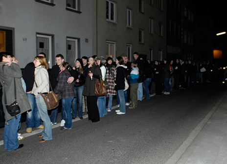 Line at Pecha Kucha Night Cologne