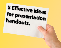 how to write a presentation handout: 5 effective ideas, Powerpoint templates